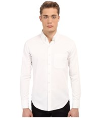 Naked And Famous Slim Oxford Shirt White