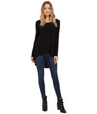 Culture Phit Cassia High Low Top Black Women's Clothing