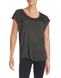 Betsey Johnson Fly With Me Knit Tank Charcoal
