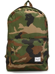 Herschel Supply Co. 'Classic' Camouflage Print Backpack Green