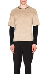 Opening Ceremony Double Layer Thermal Mockneck In Neutrals