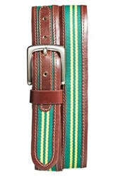 Men's Jack Mason Brand 'Tailgate Oregon Ducks' Belt