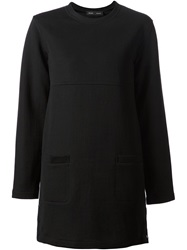 Proenza Schouler Mini Sweater Dress Black