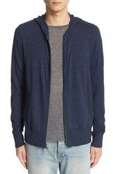 John Varvatos Men's Collection Merino Wool Zip Hoodie