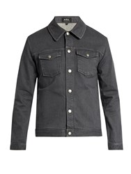 A.P.C. John Denim Jacket Grey
