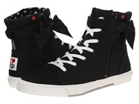 I Heart Ugg Hi Top Black Women's Lace Up Casual Shoes