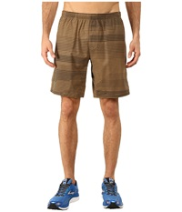 Brooks Rush 9 Shorts Heather Ale Lightspeed Men's Shorts Brown