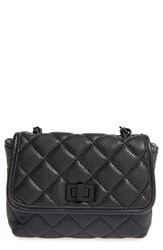 Steve Madden 'B Clarre' Perforated And Quilted Faux Leather Crossbody Bag