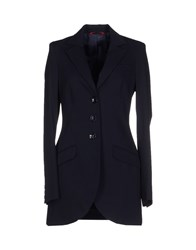 Divina Suits And Jackets Blazers Women Dark Blue