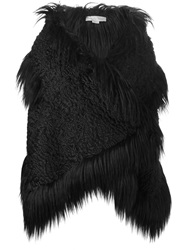 Stella Mccartney Faux Fur Gilet Black