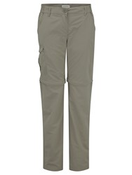 Craghoppers Nlife Convert Trousers Beige