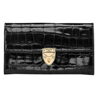Aspinal Of London Mayfair Leather Purse Black
