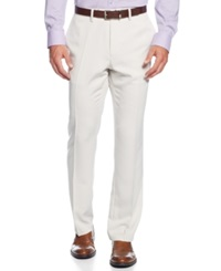 Kenneth Cole Reaction Slim Fit Urban Pants Natural