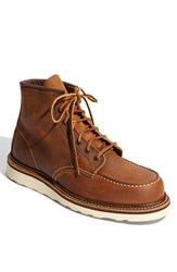 Red Wing Shoes Men's 'Classic Moc' 6 Inch Boot Copper Brown 1907