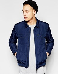 Lee Quilted Jacket Navy