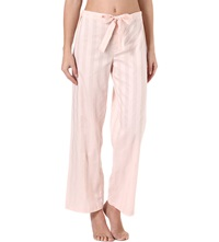 Bodas Cotton Pyjama Trousers Shell Pink