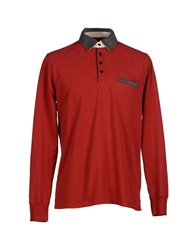 Murphy And Nye Polo Shirts Red