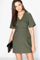 Lola A Line Skater Pocket Dress