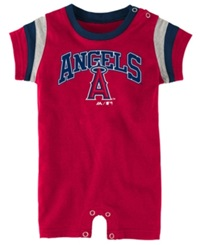 Majestic Babies' Los Angeles Angels Of Anaheim Batter Romper