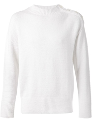 Camoshita By United Arrows Button Shoulder Sweater