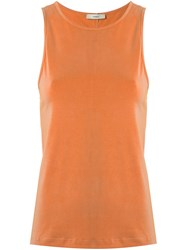 Egrey Sleeveless Top Yellow Orange