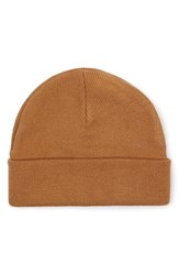 Topman Men's Knit Cap Beige