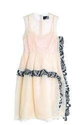 Simone Rocha Tulle Dress Beige