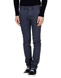 40Weft Trousers Casual Trousers Men Dark Blue