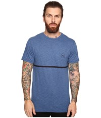 O'neill Cooler Short Sleeve Screens Impression T Shirt Brilliant Blue Men's T Shirt