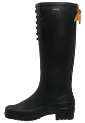 Aigle Miss Juliette Wellies Noir Black