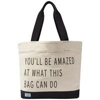 Toms You'll Be Amazed At What This Bag Can Do Signature Tote Bag Natural