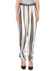 10 Crosby Derek Lam Trousers Casual Trousers Women White