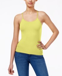 Energie Juniors' Penny Strappy Cami Top Elfin Yellow