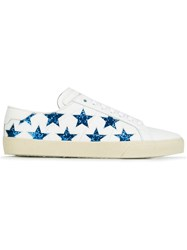 Saint Laurent 'Signature Court Clasic' California Sneakers White