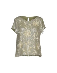 Semi Couture Blouses Light Green