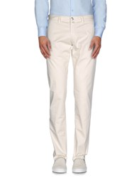 Betwoin Trousers Casual Trousers Men Ivory