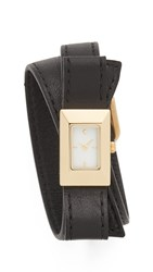 Kate Spade Kenmare Double Wrap Watch Gold