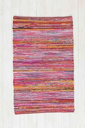 Magical Thinking Ikat Stripe Handmade Rug Urban Outfitters