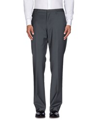Versace Collection Trousers Casual Trousers Men Lead