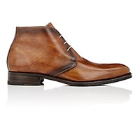 Harris Men's Burnished Chukka Boots Brown