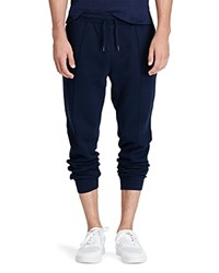 Polo Ralph Lauren Ribbed Cotton Jogger Sweatpants Cruise Navy