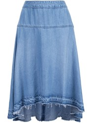 Joe's Jeans 'The Abigail Long' Skirt Blue