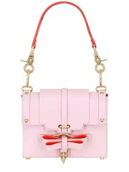 Niels Peeraer Small Bow Buckle Leather Top Handle Bag