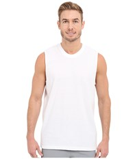 Adidas Athletic Comfort 3 Pack Muscle Tee White White White Men's Sleeveless