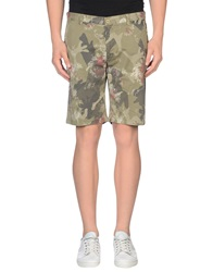 Authentic Original Vintage Style Bermudas Military Green