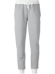 Moncler Ribbed Edge Sweatpants Grey