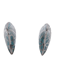 Dj By Dominic Jones Large Thorn Stud Earrings Blue