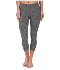 Beyond Yoga Capri Legging Black Spacedye Women's Capri