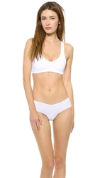 Top Secret Basic Instinct Bra White