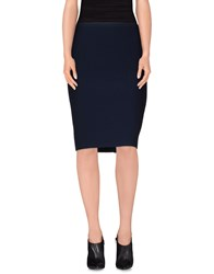 Blumarine Skirts Knee Length Skirts Women Dark Blue